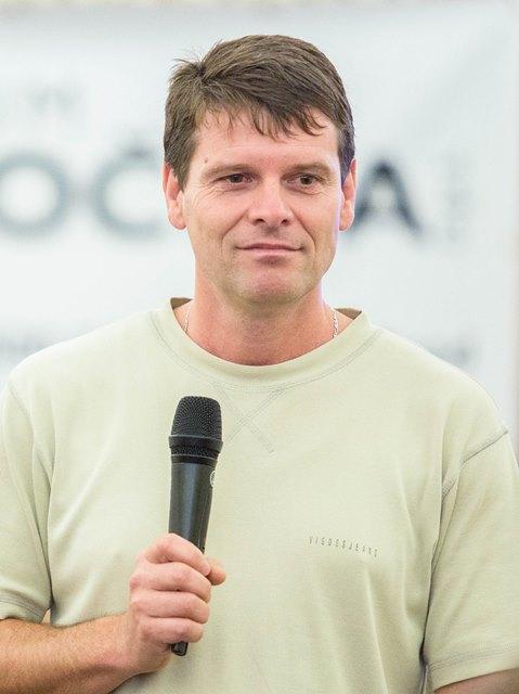 Milan Pilař, hlavní organizátor